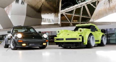 乐高增加了经典的70年代保时捷911 Turbo成为冠军系列