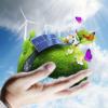 把太阳馈赠的不竭清洁电能输送电网