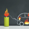 新能源电动汽车自燃事故多由动力电池热失控造成电芯热失控蔓延导致