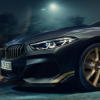 这是BMW 8系GOLDEN THUNDER版
