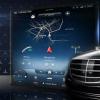 新款梅赛德斯奔驰S级首次正式浏览大型触摸屏