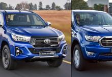 南非的双驾驶室bakkie销售竞赛2020年6月之后的统计数据