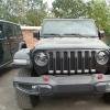 20款平行进口jeep牧马人到港实车给人耳目一新的感觉