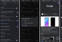 谷歌应用在谷歌搜索,谷歌发现和设置中出现了一个黑暗的主题