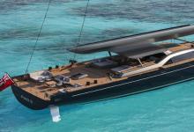 定制的151英尺帆船游艇为您的下一次海洋冒险带来速度