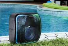 索尼XB501G为Google助手提供了16小时坚固的扬声器可以在其中播放