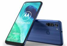 正式推出三合一后置摄像头的Moto G8
